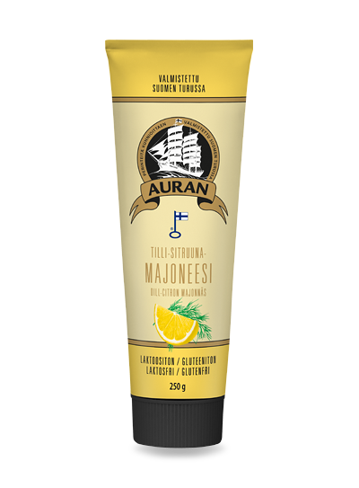 Auran Tilli-sitruunamajoneesi 250 g – Auran